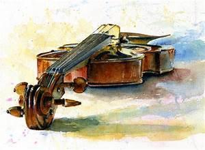 Violin 2 by John D Benson