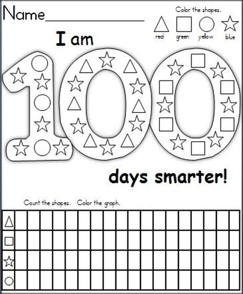 100 Days Of School Activities 4th Grade  Best Free 100th