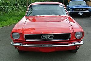 SOLD: 1966 Red Ford Mustang V8 Auto Coupe PROJECT - Essex Mustang Centre