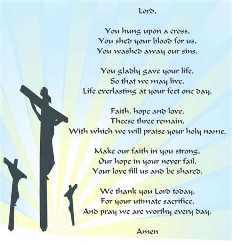 Good Friday Poems Christian