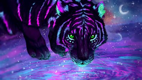 neon tiger wallpapers hd wallpapers id
