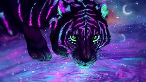 Neon Tiger Wallpapers HD Wallpapers ID #28044