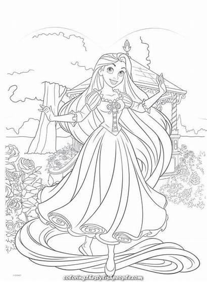 Coloring Disney Rapunzel Tangled Ausmalbilder Princess Ausmalen
