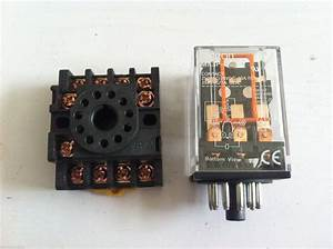Mk3p I Dc 12v Relay 11 Pin 10a 250vac With Pf113a Socket