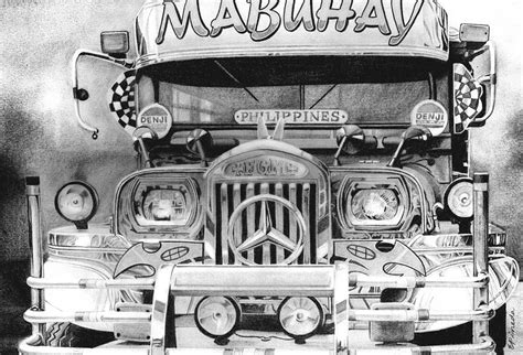 jeep philippines drawing 39 39 bip bib ang pasaherong jeepney 39 39 drawing by erwin pineda