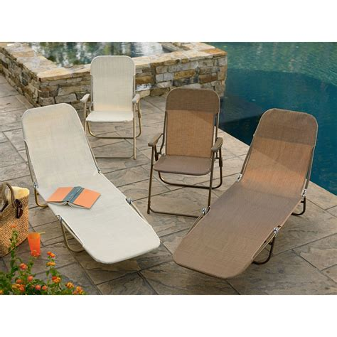 garden oasis waffle chaise brown outdoor living