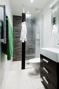Kleines Bad Dusche : die besten 25 schmales badezimmer ideen auf pinterest kleines schmales badezimmer langes ~ Markanthonyermac.com Haus und Dekorationen