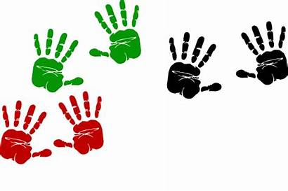 Hand Clipart Clip Prints Handprints Cartoon Handprint