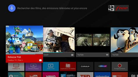 free tv android freebox mini 4k mise 224 jour majeure vers android 5 1