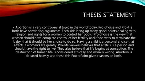 thesis paper  abortion writearticlesxfccom