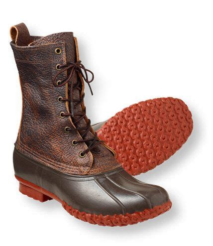 bison leather llbean boots     birthday