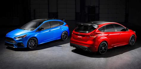 ford focus rs limited edition colors release date