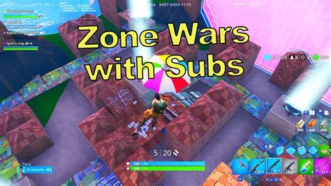 killing subs  fortnite zone wars fortnite creative