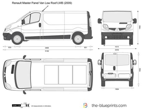 renault trafic dimensions the blueprints com vector drawing renault trafic panel