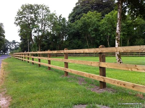 Post And Rail Fencing Ireland