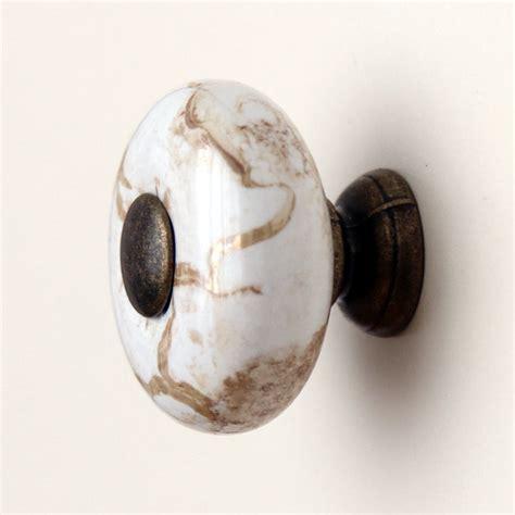 porcelain knobs for kitchen cabinets 10pcs antique marble ceramic drawer knobs cupboard door 7542
