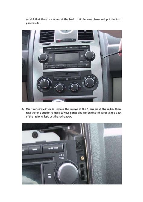 Chrysler 300 Stereo Upgrade by Replace A 2005 2006 2007 Chrysler 300 Touring Radio With