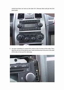 Replace A 2005 2006 2007 Chrysler 300 Touring Radio With Aftermarket
