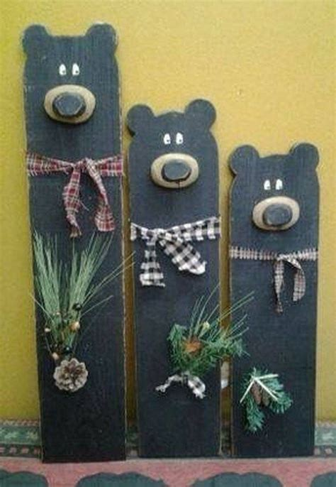 amazing wooden winter decoration ideas  christmas wood