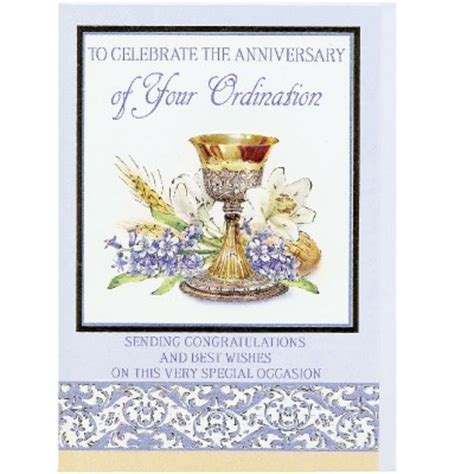 ordination anniversary cards cards special occasions