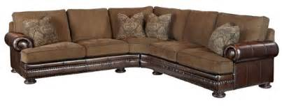 nail l shaped sofa and brown leather on