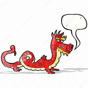 Dibujos animados de dragón chino Archivo Imágenes Vectoriales © lineartestpilot #59587771
