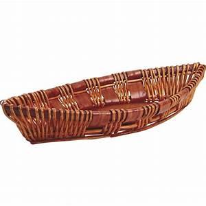 Corbeille En Osier : corbeille bateau en osier cfa2540 aubry gaspard ~ Teatrodelosmanantiales.com Idées de Décoration