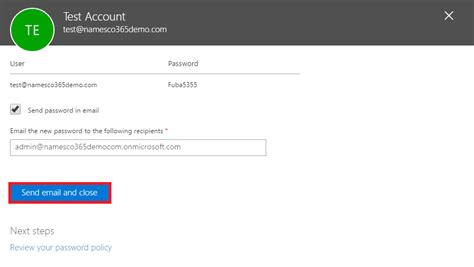 Office 365 Outlook Password Reset by How To Reset A User Password For Office365