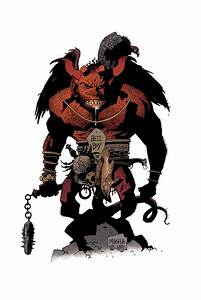 First Hellboy Sketch By Mike Mignola COLORS | Studio Made ...