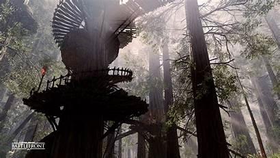 Wars Star Battlefront Forest Moon Ewok Endor