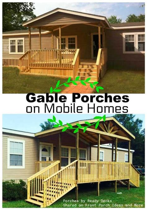Ideas For Mobile Homes by Porch Designs For Mobile Homes In 2019 Mobile Home Porch