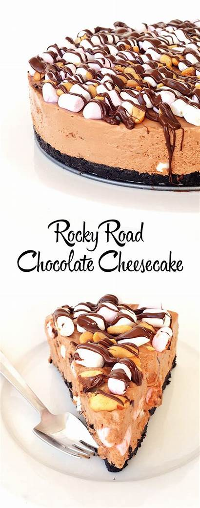 Cheesecake Rocky Road Bake Recipe Oreo Taste