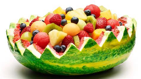 watermelon basket berries strawberries kiwi fruit