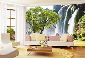 Carta Da Parati Murales : carta da parati per arredare le pareti in soggiorno tantissime idee cool ~ Frokenaadalensverden.com Haus und Dekorationen
