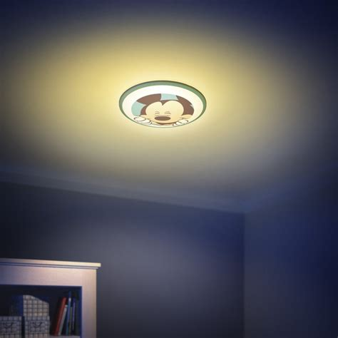mickey mouse ceiling light fixture magic light official