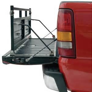 xten d gate steel truck bed extension tailgate extender