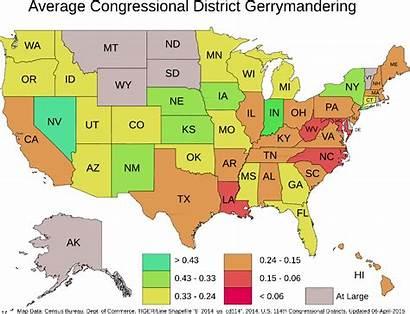 Gerrymandering States State United Map Gerrymander Iii
