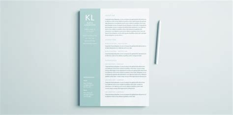 Resume Template Indesign by Modern Resume Template For Indesign Free