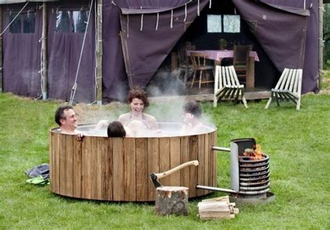 Whirlpool Garten Real by Vier Freunde Badetonne Whirlpool Holz Ofen Handgefertigt