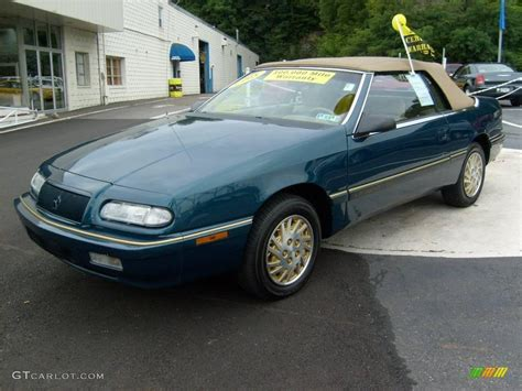 1995 Chrysler Lebaron Gtc Convertible by 1995 Spruce Pearl Chrysler Lebaron Gtc Convertible