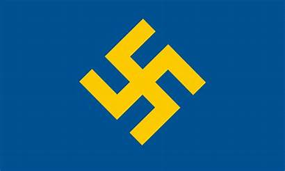 Flag Svenska Svg Party Partiet Socialist National