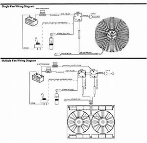 Fan Control Throughout Electric Radiator Fan Wiring Diagram