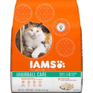 cat food hairball iams proactive health hairball care premium cat