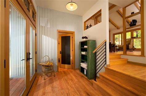 Corrugated Metal in Interior Design | MountainModernLife.com