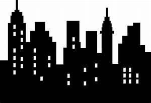 Cityscape clipart batman city