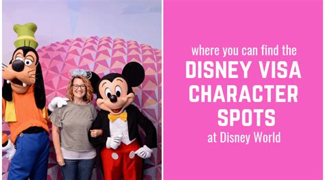 find disney visa character spots disney world