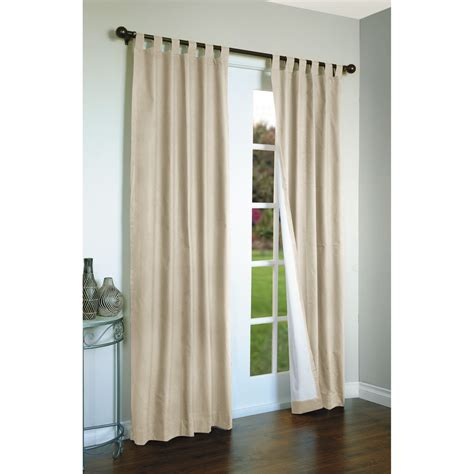 thermalogic weathermate curtains 80x63 quot tab top