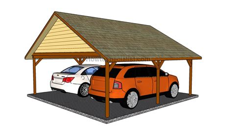 Carport Designs  Howtospecialist  How To Build, Step By