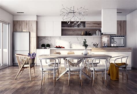 19 Stunning Scandinavian Inspired Dining Rooms For Your
