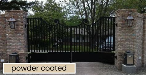 house gates sles wrought iron driveway gates and fence automatic gate opener systems amazing gates